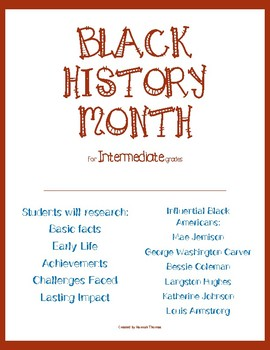 Black History Month Biography