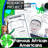 Black History Month Projects | African American History | BUNDLE