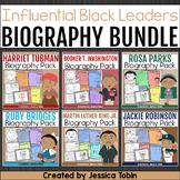 Black History Month Activities- Biography Mini Bundle