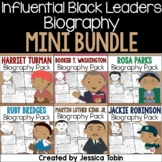 Influential Black Leaders Biography Sets- Biography Mini Bundle