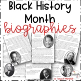 Black History Month Biographies with a Google Forms Assessment