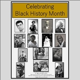 Black History Month Biography Passages and Questions