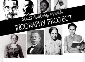 Black History Biography Projects