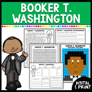 Black History Month- Booker T. Washington- Biography & more!