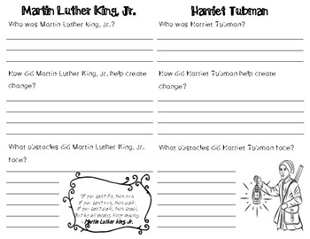 Black History Month Booklet