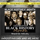 Black History Month Digital Break Out DBQ Activity