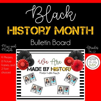 Black History Month Bulletin Board