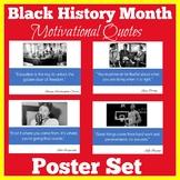 Black History Month   Bulletin Board Poster Set   Class De