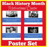 Black History Month Bulletin Board Poster Set