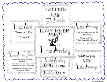 Black History Month Bulletin Board Set/Printables/Signs Mu