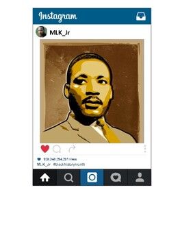 Black History Month Bulletin Ideas (Instagram Theme)