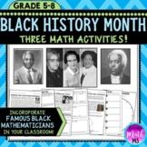 Black History Month: Math Activities Bundle!