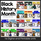 Black History Month Bundle **12 Historical Figures in African American History**