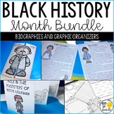 Black History Month Activities: Famous African Americans Bundle