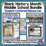 Black History Month Bundle-Bell Ringers, Banners, and Bulletin Boards