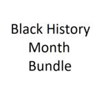 Black History Month Bundle Dr. King, Rosa Parks African-American History NO PREP