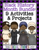 Black History Month Bundle for Middle School - 9 Activities and Projects