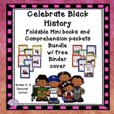 Black History Month Bundle of Mini Book Foldables and Comprehension Packets