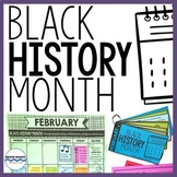 Black History Month Calendar, Biographies and Activities