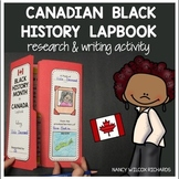 Black History Month Canada Activity with Research Project
