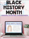 Black History Month Canada - Digital Activities, Worksheets, Lessons, Readings
