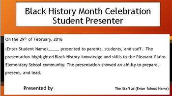 Black History Month Celebration Package