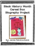 Black History Month Cereal Box Biography with Rubric