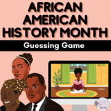Black History Month Character Guessing Game