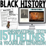 Black History Month   Civil Rights Leaders & More