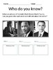 Black History Month - Civil Rights Movement using US Supreme Court Cases