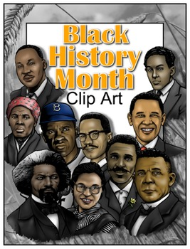 Black History Month Clip Art