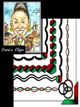 Black History Month~ Clip Art Frames