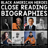 Black History Month Activities | Black American Heroes Clo