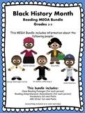 Black History Month Close Reading and Reading Comprehensio