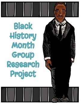 Black History Month Collaborative Research Project - Google Slides - NO PREP