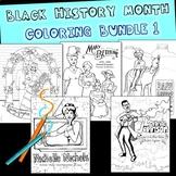 Black History Coloring Bundle