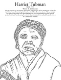 Black History Month Coloring Page - Harriet Tubman
