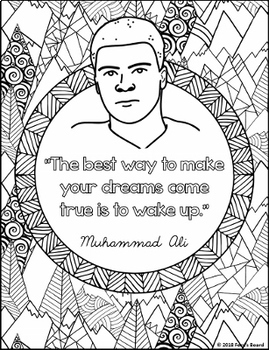 20 Free Printable Black History Month Coloring Pages | 350x269