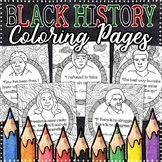 Black History Coloring Pages | Black History Month Activities