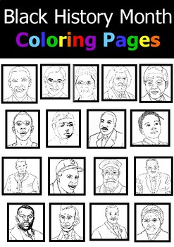 Black History Month (Coloring Pages + Writing Activities) by Onphamon