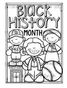 Black History Month Coloring Pages & Posters by impact in ...