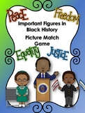 Black History Month Differentiated Concentration Game