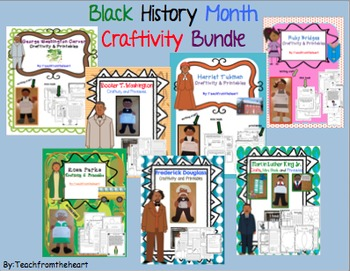 Black History Month Craftivity Bundle