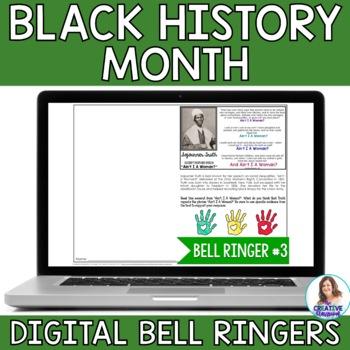 Black History Month DIGITAL Bell Ringers