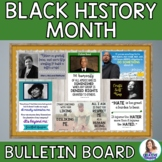 Black History Month DIY Interactive Bulletin Board