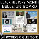 Black History Month DIY Interactive Bulletin Board