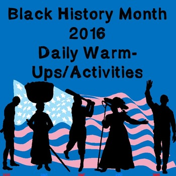 Black History Month: Daily 15 Minute Activities Packet