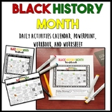 Black History Month: Daily Activities and Workbook