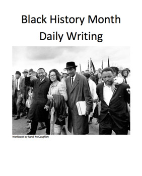 Black History Month Daily Writing