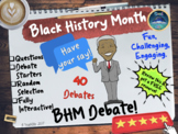 Black History Month Debate Generator